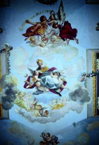 San Felice-Affresco Soffitto-Cappella Privata